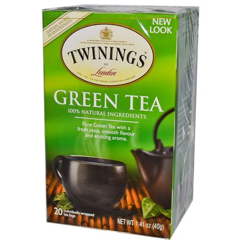 twinings green tea 20 tea bags 1 41 oz 40 g iherb