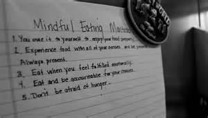 Mindful Eating Mantras