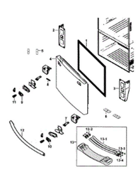 parts  samsung rfbeaesraa  refrigerator