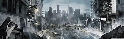 Dual Fallout Screen Wide