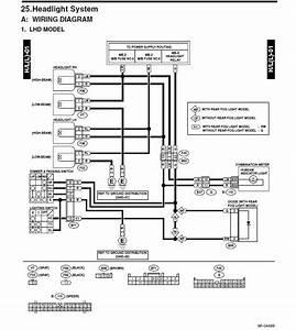 2003 Subaru Outback Wiring Diagram