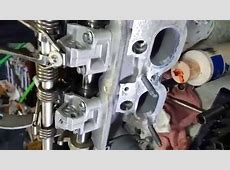 Without special tool Mini Cooper Cylinder Head weird