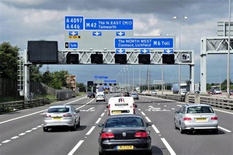 cars  driving   motorway