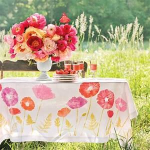 Tischdecken Für Draußen : tischdeko jeder tag ist ein fest mit sch nen tischdecken wohnideen und dekoration ~ Frokenaadalensverden.com Haus und Dekorationen
