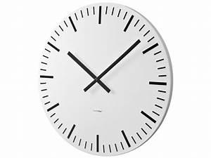 Horloge Murale Blanche : horloge murale white station blanche 60cm vente de balvi ~ Teatrodelosmanantiales.com Idées de Décoration