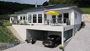 Haus Mit Tiefgarage : pin von michael sp auf haus am hang pinterest bungalow bauen wohnen und h uschen ~ Indierocktalk.com Haus und Dekorationen