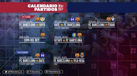 datas  os horarios  proximos jogos  fc barcelona
