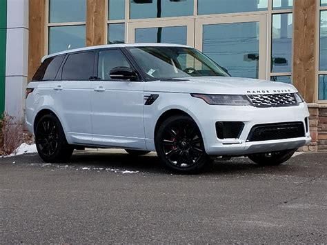 Land Rover Range Rover Sport 2019 by New 2019 Land Rover Range Rover Sport Dynamic 4 Door In