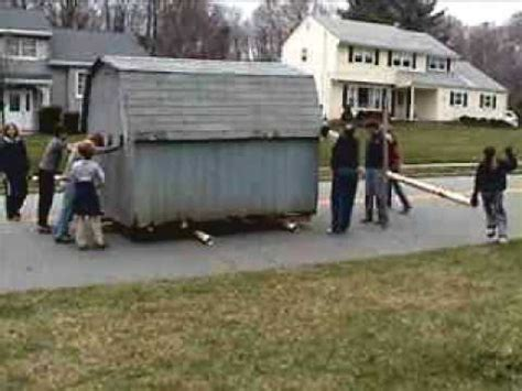 how to move a shed how to move a shed