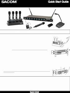 Ds80h Handheld Microphone User Manual Quick Start Guide 1