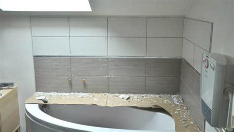 cr馘ence cuisine verre recouvrir faience cuisine maison design sphena com