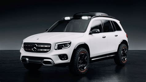 mercedes benz glb concept  rugged baby suv addition