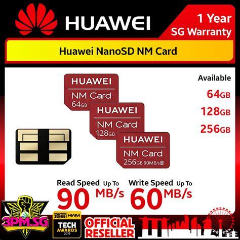 Card memory original huawei nano memory nm card 128gb for mate 20 & pro nm1. Huawei Nano SD NM Nano Memory Card 90MB/s Read Speed For Mate 20 Mate 30 P30 P30Pro 3PM.SG 12BUY ...