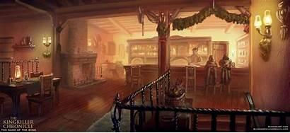 Kingkiller Inn Waystone Chronicle Artstation Chronicles Concept