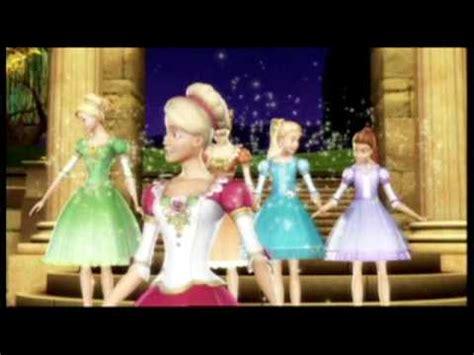 barbie    dancing princesses trailer youtube