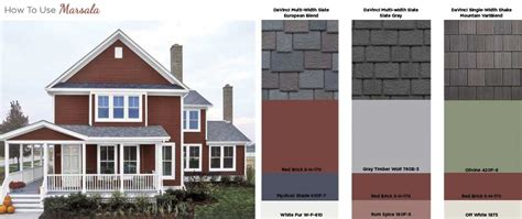 exterior home color schemes studio design gallery