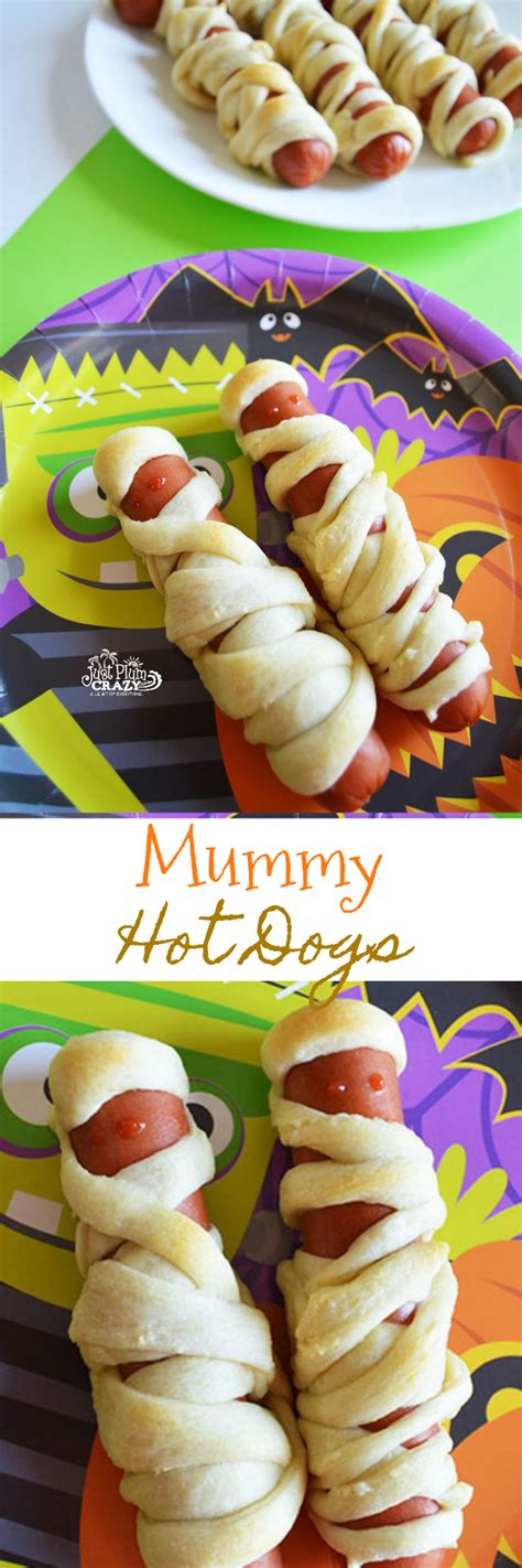 The party down south crew gets wasted on a whole 'nother level tonight, and you won't believe what murray puts in his mouth. Scary Mummy Hot Dogs Recipe   Just Plum Crazy