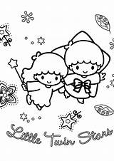 Coloring Pages Twins Twin Stars Printable Getdrawings Getcolorings sketch template