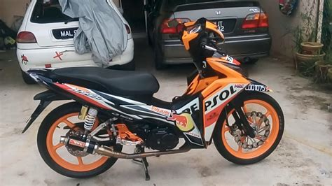 honda wave dash 110 repsol modified racingboy cj ipoh youtube