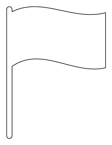 Flag Template Flag Pattern Use The Printable Outline For Crafts