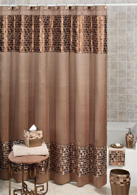 Shower Curtains by Remarkable Fabric Shower Curtains For Bathroom