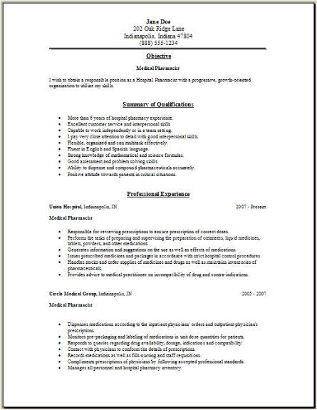 Pharmacy Manager Resume by Resume Tips For Locum Pharmacist Get And
