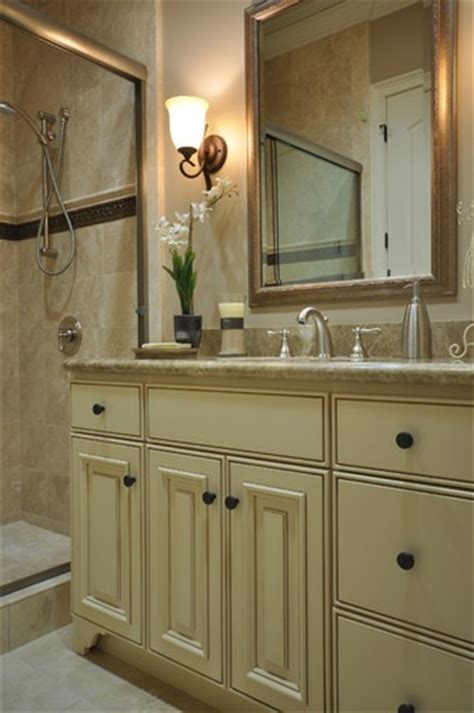 mixing metal finishes bathroom traditional bathroom