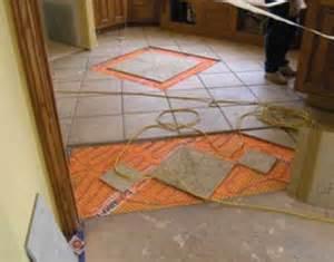 electric radiant floor heat mats