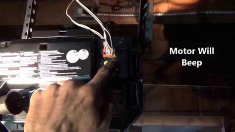 travel limits adjust chamberlain liftmasterprogram buttons youtube