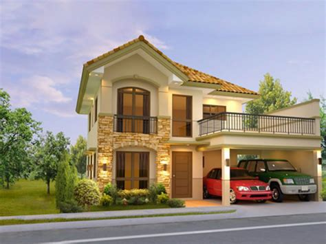 2 storey house two house designs philippines two house in
