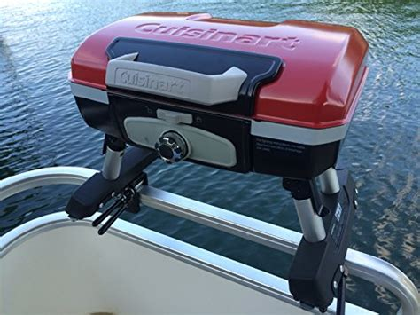Cuisinart Boat Grill by Cuisinart Grill Modified For Pontoon Boat With Arnall S