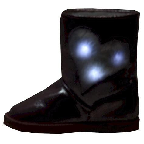 light up boots for girls firebugs 39 s katrina fashion light up winter boots