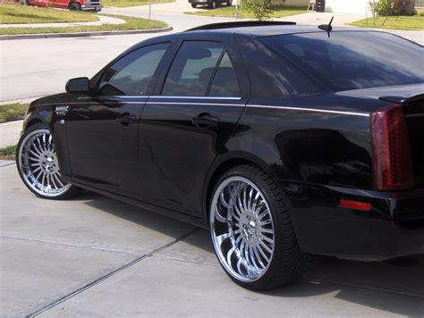 nvb  cadillac sts specs  modification info