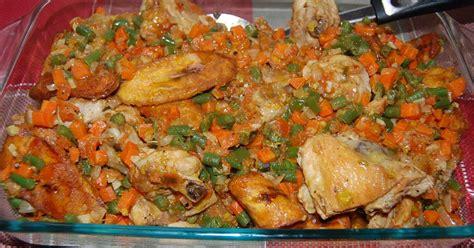 cuisine africaine camerounaise poulet dg directeur général recette en vidéo recette
