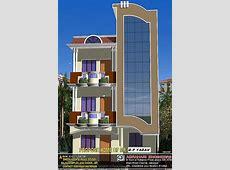 elevation of 30' x 50' plot building GharExpert