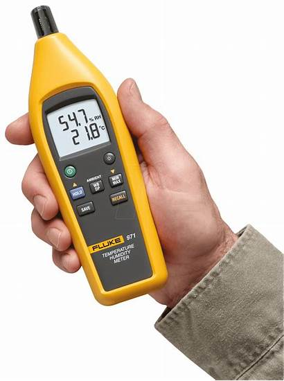 Fluke Meter Temperature Humidity 971 Reichelt Max