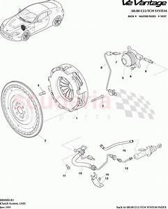 Aston Martin V12 Vantage Clutch System  Lhd  Parts