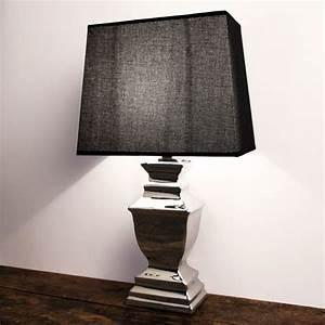 Shabby Chic Lampen : stehlampe tischleuchte keramik silver platet silber lampe shabby chic in m bel wohnen ~ Orissabook.com Haus und Dekorationen