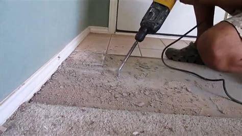 comment retirer du carrelage au sol de conception de maison