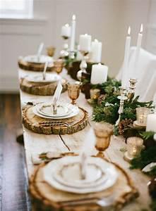 Herbst Tischdeko Natur : ideen f r weihnachtliche dekoration mit tannenzweigen ~ Bigdaddyawards.com Haus und Dekorationen