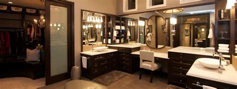 robeson design master bathroom custom closet and dressing