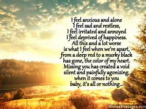 I Miss You Poems for Girlfriend: Missing You Poems for Her ...
