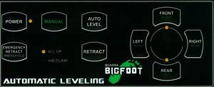 Bigfoot Leveling System Troubleshooting  U0026 Tech Support