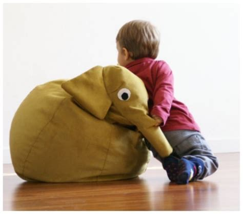 animal bean bags for by il saccotto kidsomania