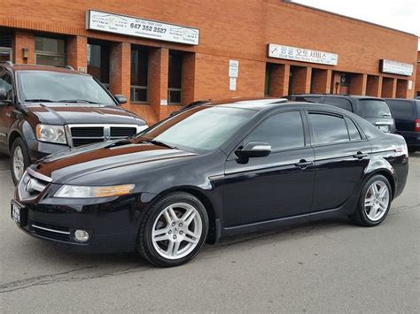 2007 acura tl premium black check list auto sales