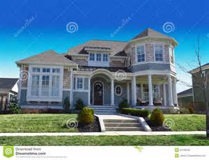 cape code house plans new style cape cod home stock photo image