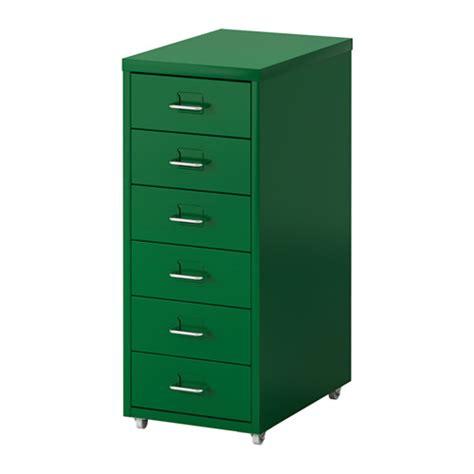 helmer caisson 224 tiroirs sur roulettes vert ikea