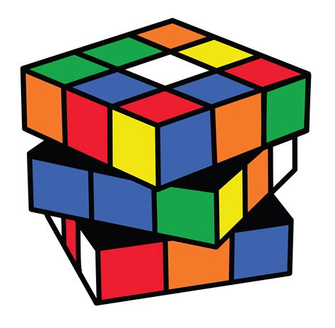 Cube Clipart Rubiks Cube Puzzle Clipart Free Clip