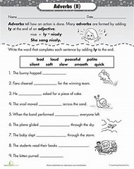 Best 25+ ideas about Adverb Worksheets | Find what you\'ll love