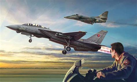 tm maquette avion italeri combo top gun